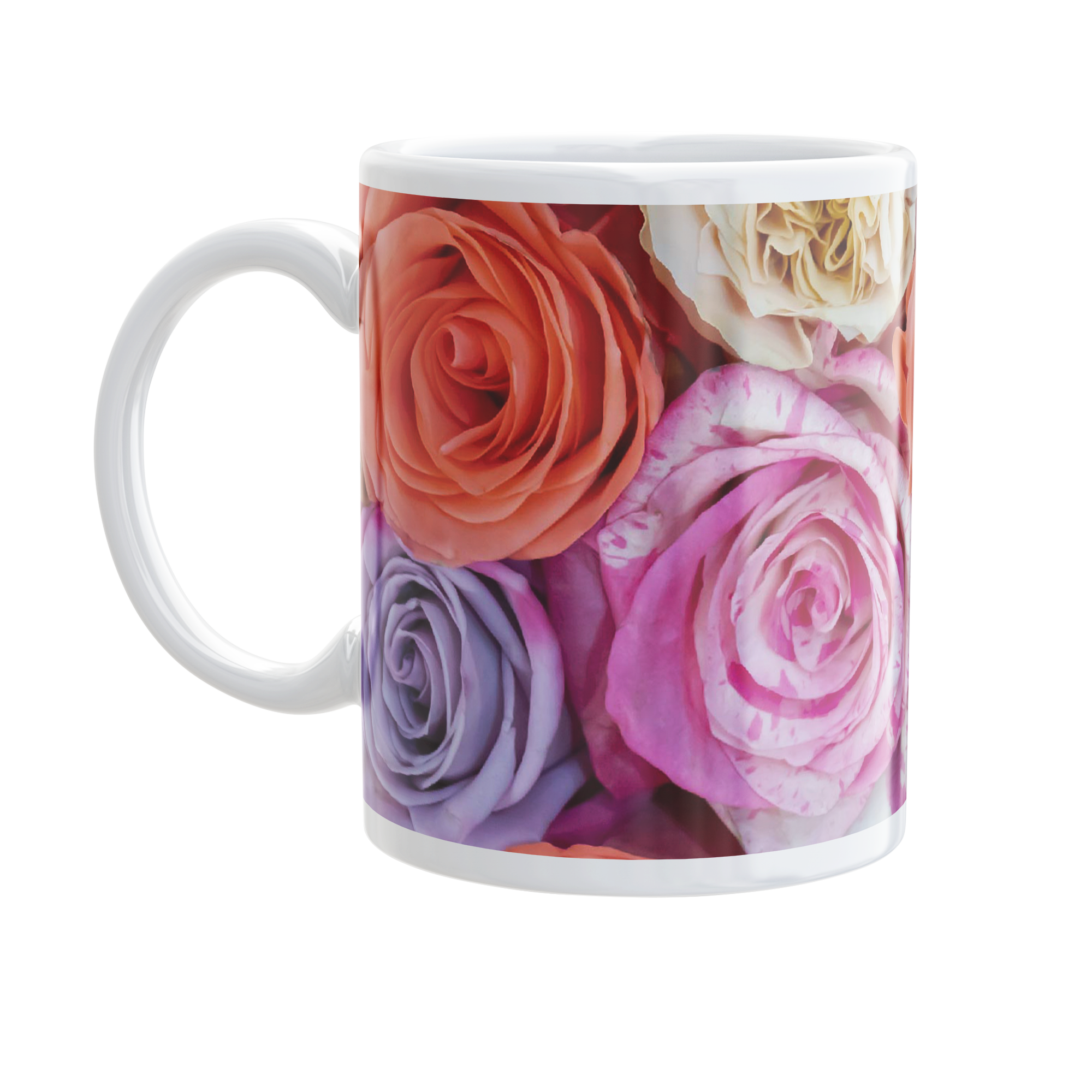 Tazza Rose multicolore
