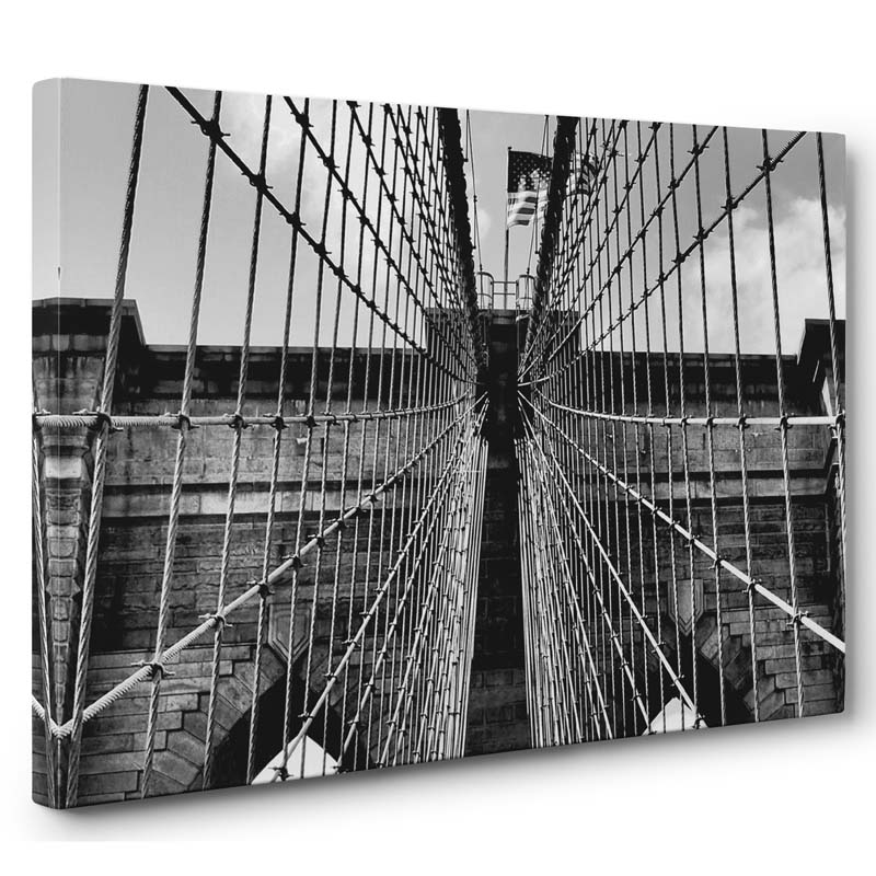 Stampa artistica Brooklyn Bridge