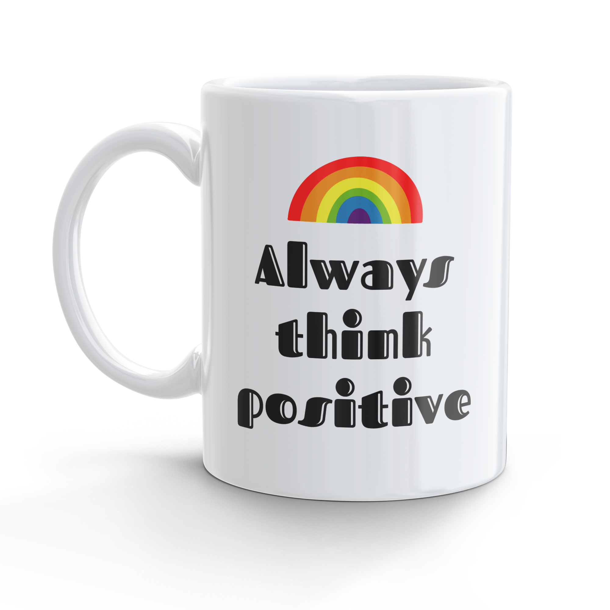 Tazza Think positive Rainbow