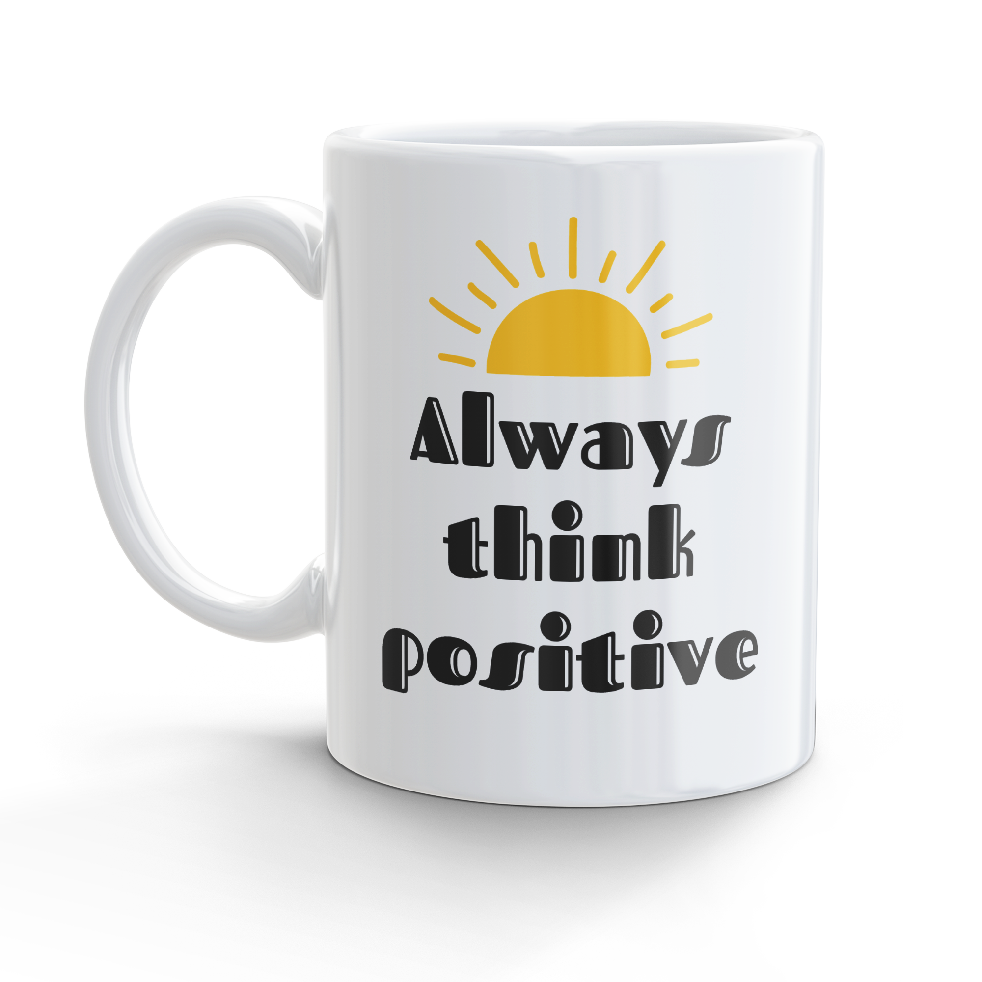 Tazza Think positive
