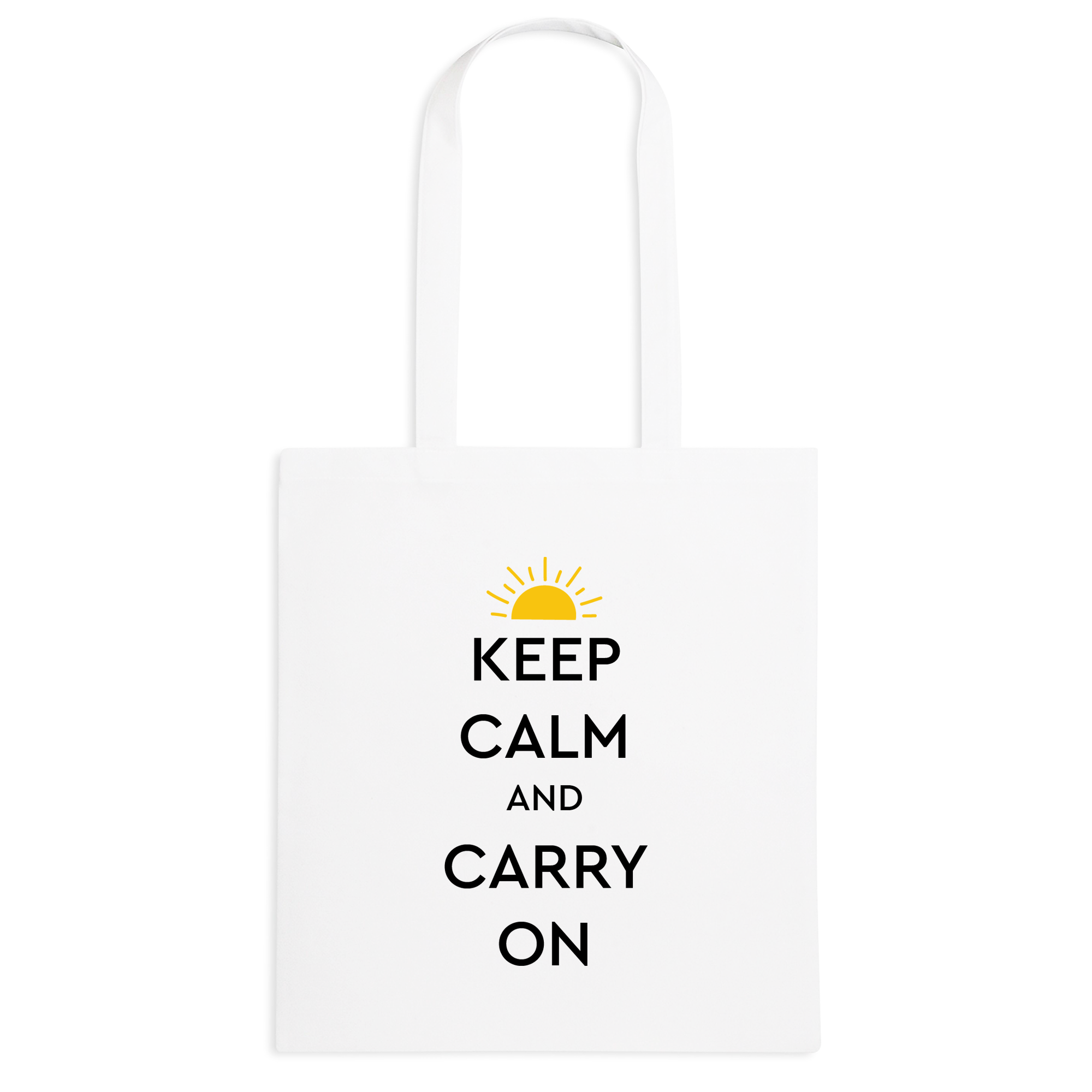 Borsa Keep calm sole