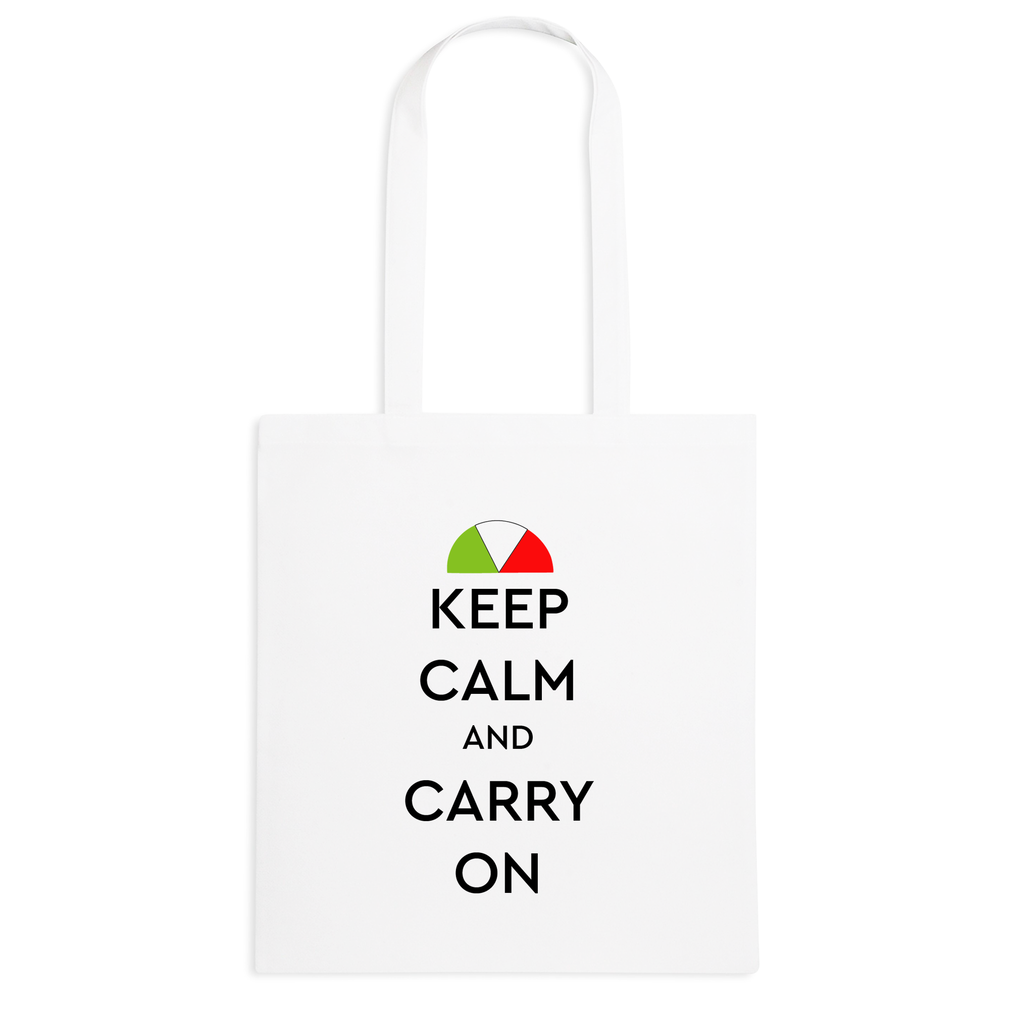Borsa Keep calm Tricolore