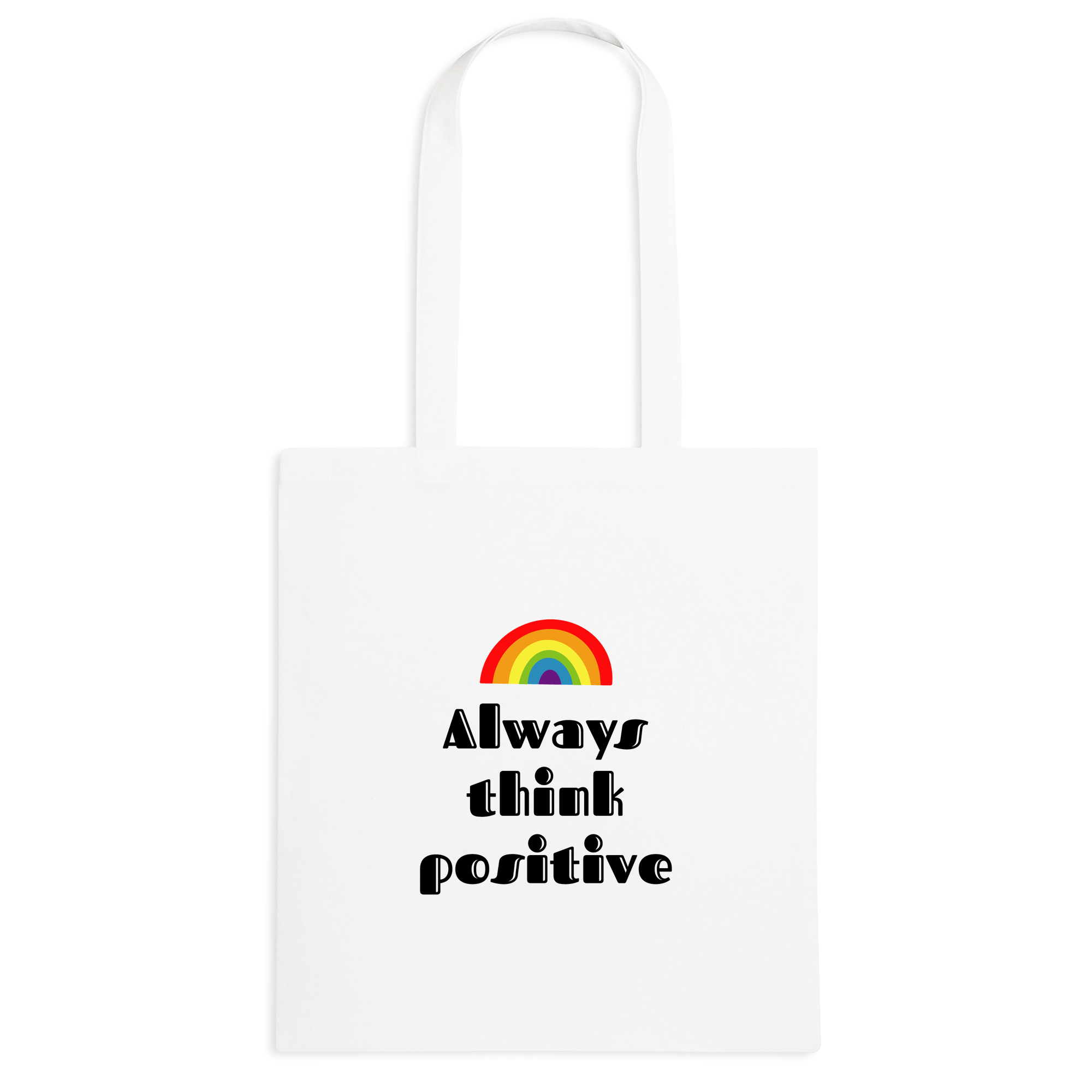 Borsa Think positive Rainbow